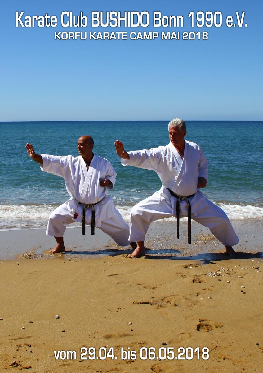 Karate Camp Korfu Mai 2018